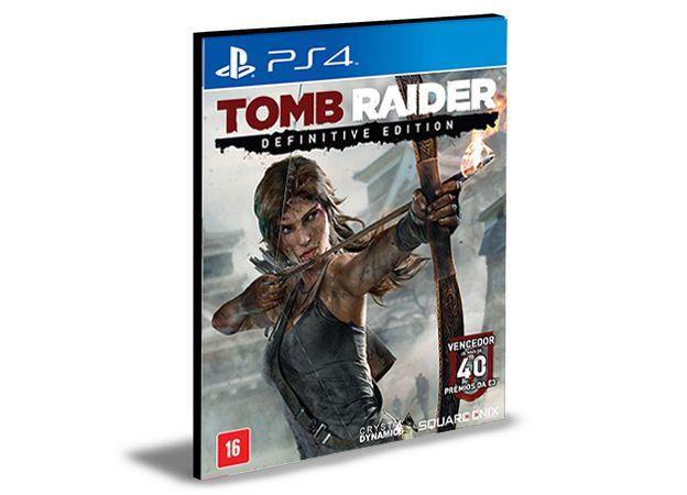 TOMB RAIDER DEFINITIVE EDITION - PS4 PSN MÍDIA DIGITAL