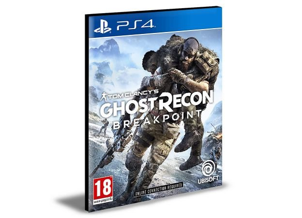 Tom Clancys Ghost Recon Breakpoint Ps4 e Ps5 Psn Mídia Digital