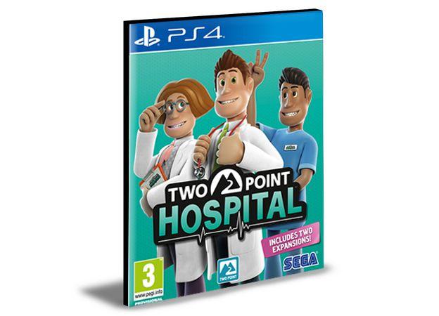 Two Point Hospital  Ps4 e Ps5 Psn Mídia Digital