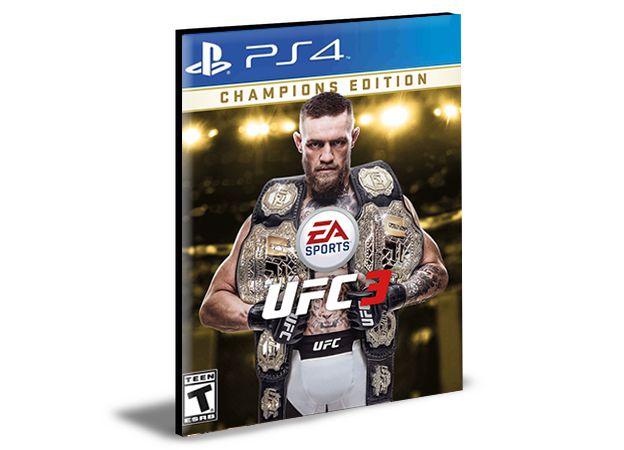 EA SPORTS UFC 3 Deluxe Edition  Português  PS4 e PS5 PSN  MÍDIA DIGITAL