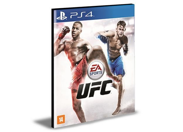 UFC Ps4 e Ps5 Psn Mídia Digital