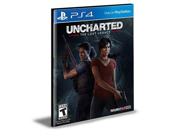 Uncharted The Lost Legacy Ps4 e Ps5 Psn  Português  Mídia Digital