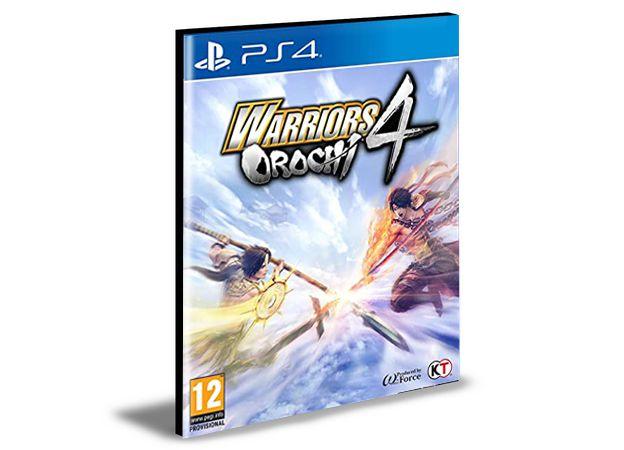 Warriors Orochi 4 Ps4 e Ps5 Psn  Mídia Digital