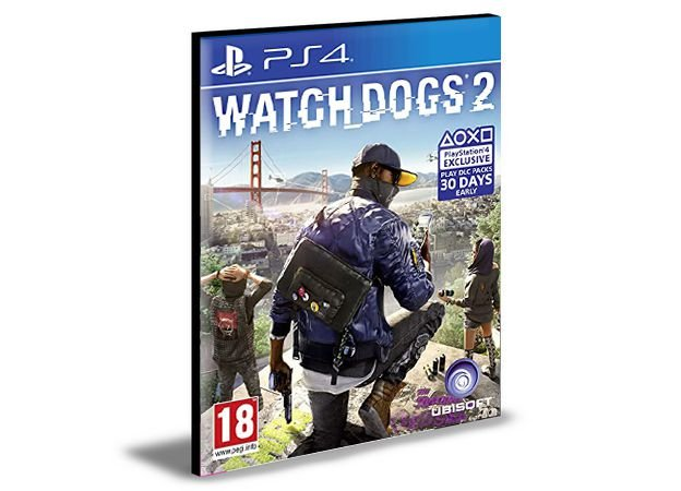 WATCH DOGS 2 PS4 e PS5 PSN MÍDIA DIGITAL