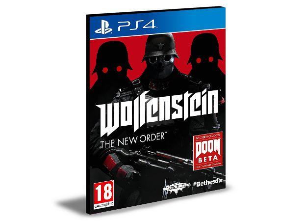 Wolfenstein The New Order  Ps4 e Ps5 Psn  Mídia Digital