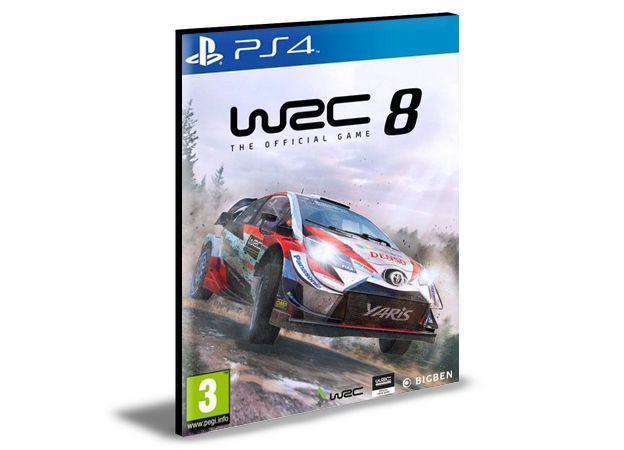 WRC 8 Fia World Rally Championship PS4 e PS5 PSN MÍDIA DIGITAL