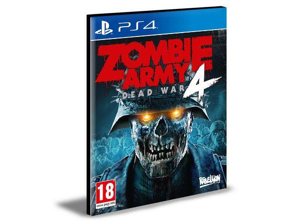 ZOMBIE ARMY 4: DEAD WAR PS4 e PS5 PSN MÍDIA DIGITAL