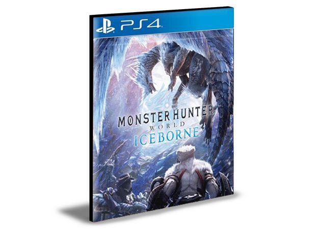 Monster Hunter World + DLC Iceborne Ps4 e Ps5 Mídia Digital