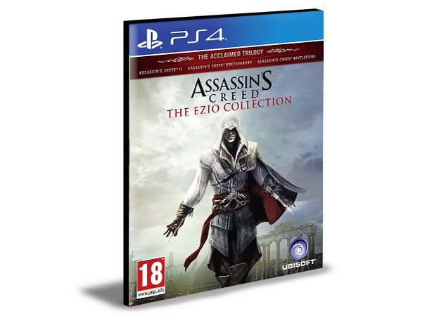 Assassin's Creed The Ezio Collection Português Ps4 e Ps5  Psn  Mídia Digital
