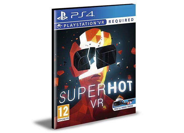 SUPERHOT VR PS4 Mídia Digital