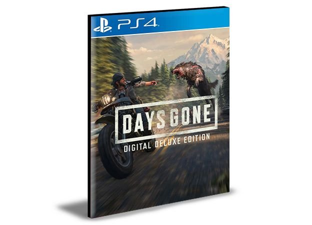 Days Gone Deluxe Edition Ps4 e Ps5 Psn Mídia Digital