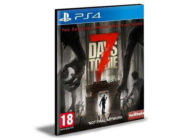 7 Days to Die Ps4 e Ps5 Psn Mídia Digital