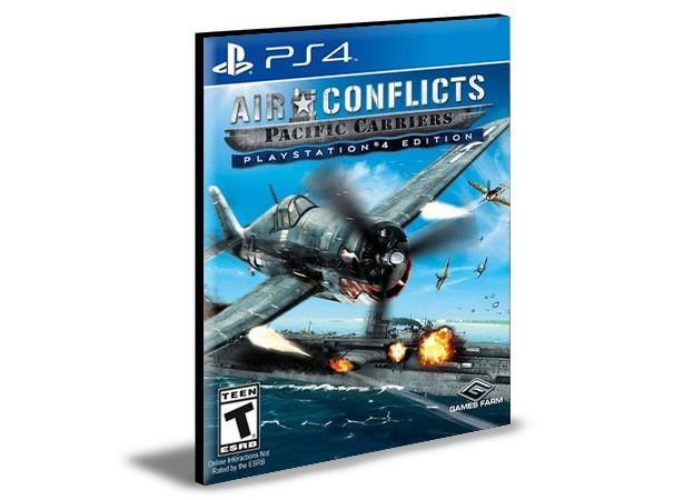 Air Conflicts Pacific Carriers  PlayStation®4 Edition Ps4 e Ps5  Psn  Mídia Digital