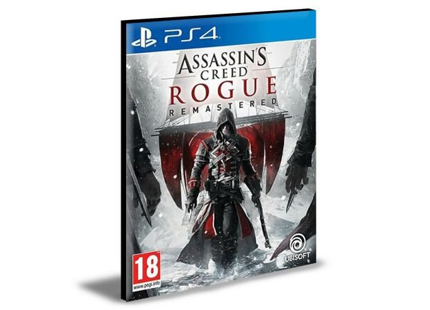 Assassin's Creed Rogue Remastered Ps4 e Ps5  Psn  Mídia Digital