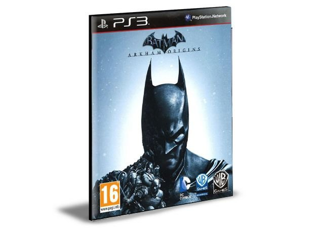 Batman Arkham Origins  Ps3  - Psn Mídia Digital