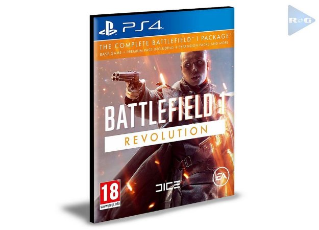 Battlefield 1 Revolution | Ps4 | Psn | Mídia Digital