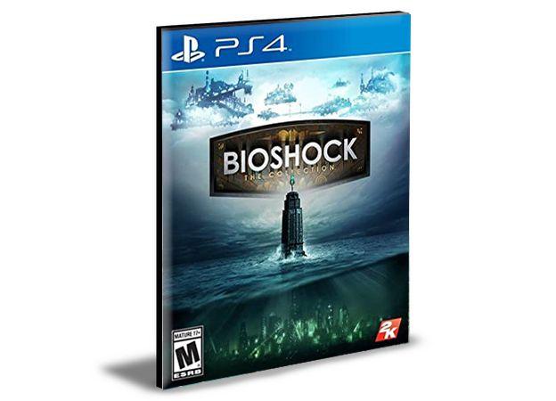 BioShock The Collection Ps4 e Ps5 Psn Mídia Digital