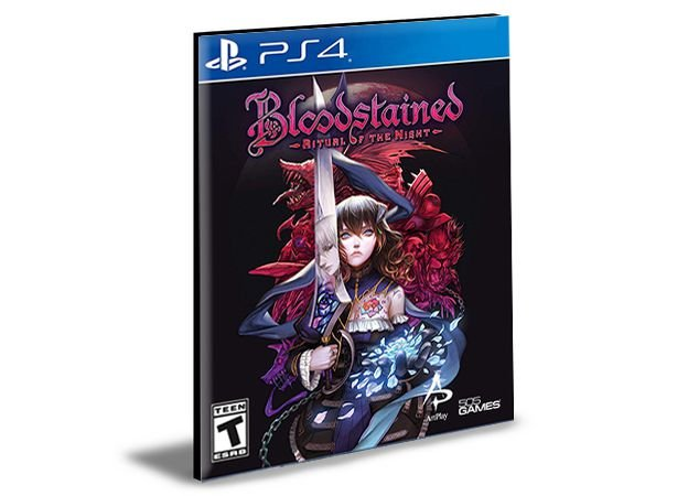 Bloodstained Ritual of the Night Ps4 e Ps5 Psn Mídia Digital