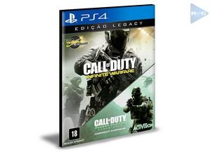 Call Of Duty Infinite Warfare Legacy Edition  Ps4 e Ps5 Psn  Mídia Digital