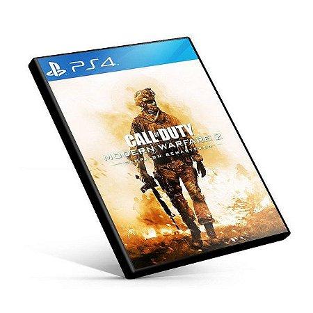 Call of Duty Modern Warfare 2 Campaign Remastered  Ps4 | Psn | Mídia Digital