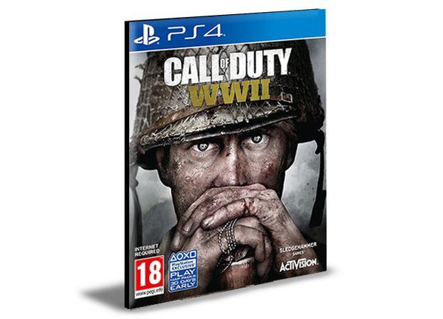 Call Of Duty  WW2  Português Ps4  Psn Mídia Digital