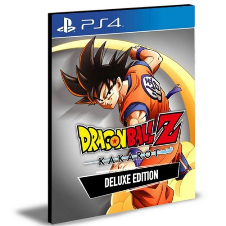 Dragon Ball Z Kakarot Edição De Luxo | Ps4 | Psn | Mídia Digital