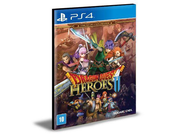 DRAGON QUEST HEROES II Edição do Explorador PS4 e PS5 PSN  MÍDIA DIGITAL