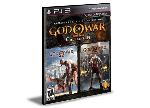 God of war 1 e 2 HD | Ps3 | Psn | Mídia Digital