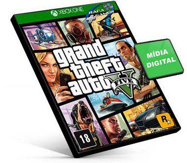 GTA 5 | Português | Xbox One | MÍDIA DIGITAL