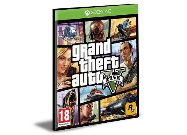 GTA 5 Xbox One e Xbox Series X|S Mídia Digital