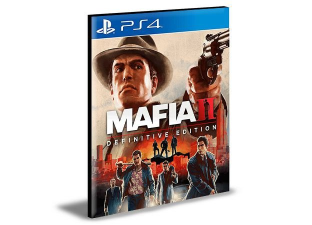 Mafia II Definitive Edition  Português  Ps4 e Ps5 Psn  Mídia Digital