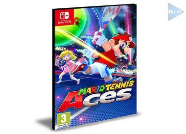 Mario Tennis Aces | Nintendo Switch | Mídia Digital