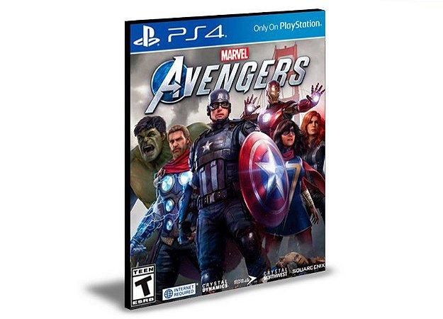Marvel's Avengers  Português  Ps4 e Ps5 Mídia Digital