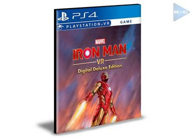 Marvel's Iron Man VR Edição Digital Deluxe | Ps4 | Psn | Mídia Digital