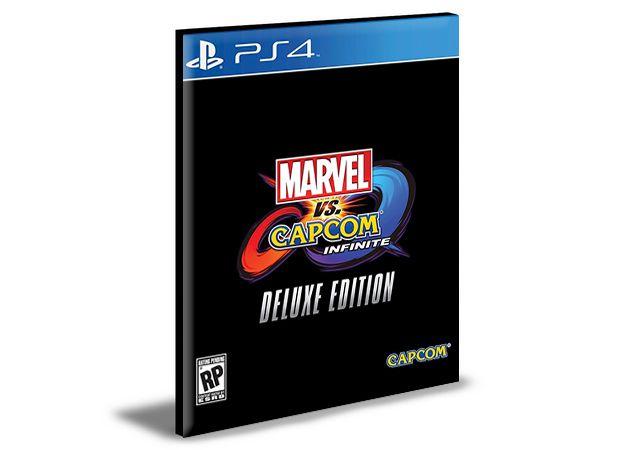 Marvel vs. Capcom Infinite Deluxe Edition Ps4 e Ps5 Psn Mídia Digital