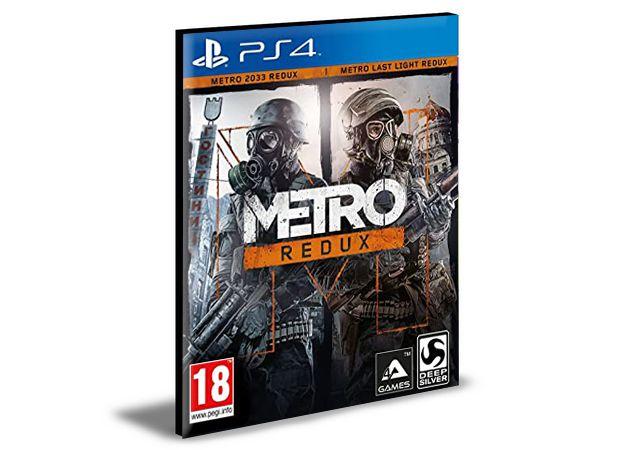Metro Redux  PS4 e PS5 Mídia Digital