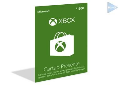 Microsoft Gift Card Xbox R$200 Reais