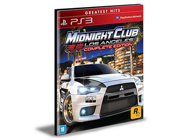 Midnight Club Los Angeles Complete Edition   PS3   PSN   MÍDIA DIGITAL
