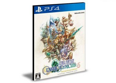 FINAL FANTASY CRYSTAL CHRONICLES Remastered Edition Ps4 - Mídia Digital