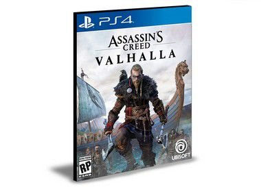 Assassins Creed Valhalla  Ps4  - Mídia Digital