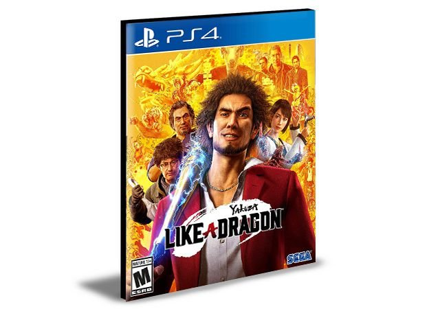 Yakuza: Like a Dragon Day Ichi Edition PS4 e PS5 PSN MÍDIA DIGITAL