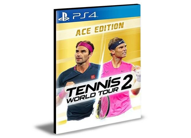 Tennis World Tour 2 Ace Edition  PS4 e PS5 Psn  Mídia Digital