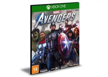 Marvel's Avengers  Xbox One e Xbox Series X|S Mídia Digital