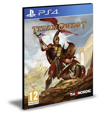Titan Quest  Ps4  - Mídia Digital