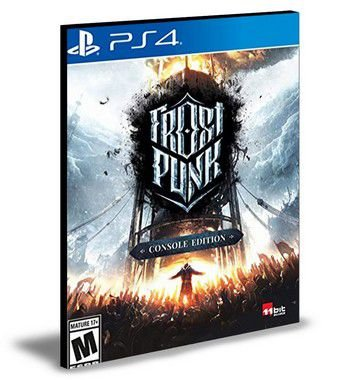 Frostpunk Console Edition Ps4 e Ps5 Psn Mídia Digital