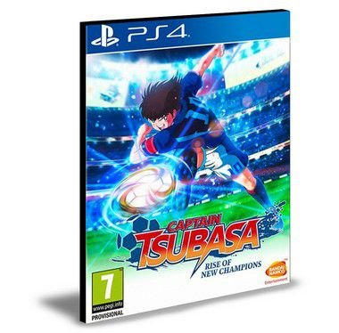 Captain Tsubasa Rise of New Champions   Ps4 e Ps5 Psn  Mídia Digital