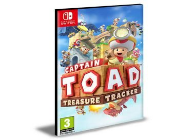 Captain Toad Treasure Tracker | Nintendo Switch | Mídia Digital