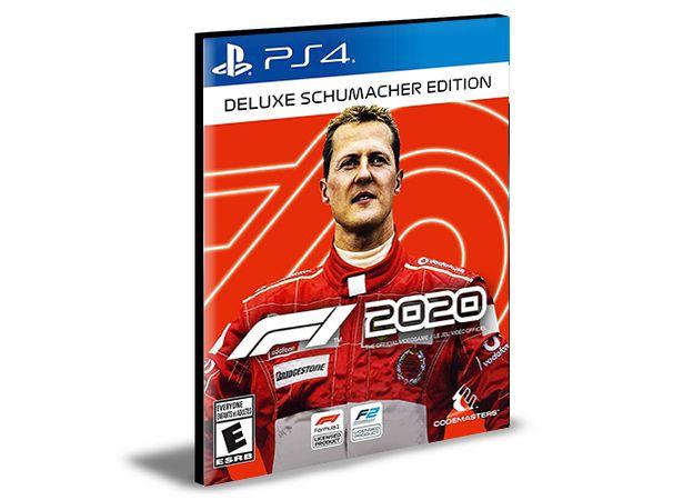 F1 2020 - Deluxe Schumacher Edition  PS4 e PS5 PSN  MÍDIA DIGITAL