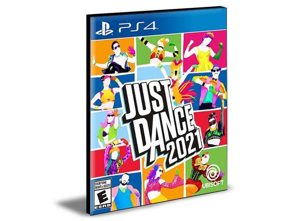 JUST DANCE 2021 PS4 PSN MÍDIA DIGITAL