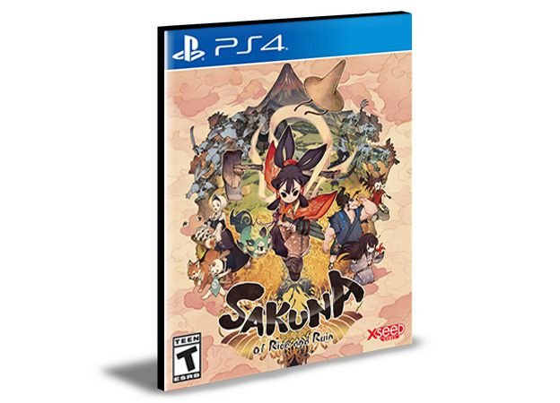 Sakuna: Of Rice and Ruin Ps4 e Ps5  Psn  Mídia Digital
